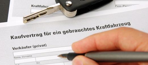 Kaufvertrag Gebrauchtwagen Das Rechtsportal Das Die