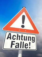 Achtung Falle!