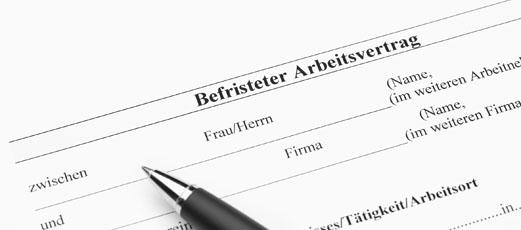 Befristeter Arbeitsvertrag Das Die Rechtsschutzmarke Der Ergo